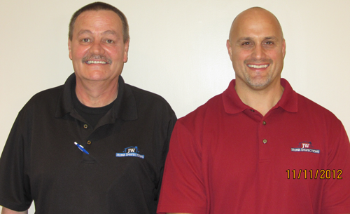 John Wade - Owner (Right) George McNees (Left)