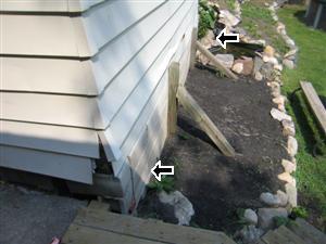 Garage 2 foundation