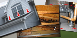 Home Inspections West Michigan Damage Home